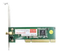 MS-Tech LN-51 Wireless WLAN 802.11b/g 2.4GHZ/54Mbps PCI...