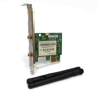 ANATEL WN7600R WLAN-Karte WiFi 802.11n 300Mbps PCIe x1...