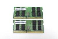 SK Hynix 32 GB (2x16GB) DDR4-2400 SO-DIMM PC4-19200S...