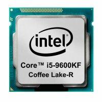 Intel Core i5-9600KF (6x 3.70GHz) SRG12 CPU Sockel 1151...