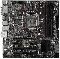 ASRock H77 Pro4-M Intel H77 Mainboard Micro-ATX Sockel...