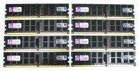 Kingston 32 GB (8x4GB) DDR2-800 reg PC2-6400R...