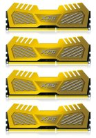 ADATA XPG V2 Gold 16 GB (4x4GB) DDR3-2600 PC3-20800U...