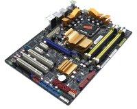 ASUS P5Q Intel P45 Mainboard ATX Sockel 775 mit Makel...