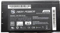 High Power HP-550-G14C ATX Netzteil 550 Watt modular 80+...