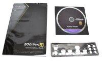 ASRock 970 Pro3 - Handbuch - Blende - Treiber CD    #314533