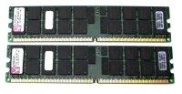 Kingston 8 GB (2x4GB) DDR2-667 reg PC2-5300R KTM-M15K2/8G...