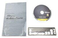 ASRock A55iCafe - Handbuch - Blende - Treiber CD    #314623