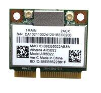 Anatel Atheros AR5B22 WLAN 802.11a/g/n  PCI-E x1  #314688