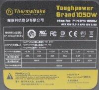Thermaltake ToughPower Grand ATX Netzteil 1050 Watt...