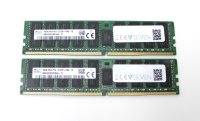 SK Hynix 32 GB (2x16GB) DDR4-2133 reg PC4-17000R...