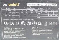 Be Quiet BQT E5-SYS-700W (BN047) ATX Netzteil 700 Watt...
