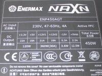 Enermax NAXN Basic (ENP450AGT) ATX Netzteil 450 Watt...