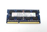 Hynix 2 GB (1x2GB) DDR3-1333 SO-DIMM PC3-10600S...