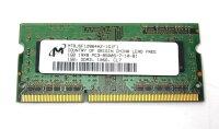 Micron 1 GB (1x1GB) DDR3-1066 SO-DIMM PC3-8500S...