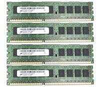 Micron 16 GB (4x4GB) DDR3-1333 ECC PC3-10600E...