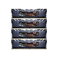 G.Skill FlareX 64 GB (4x16GB) DDR4-2400 PC4-19200U...