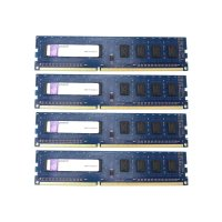 Kingston 8 GB (4x2GB) DDR3-1333 PC3-10600U...