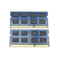 Elpida 4 GB (2x2GB) DDR3-1333 SO-DIMM PC3-10600S...