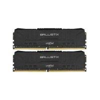 Crucial Ballistix 8 GB (2x4GB) DDR4-2400 PC4-19200U...