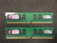 Kingston KVR 2 GB (2x1GB) KVR533D2N4K2/2G 240pin DDR2-533...