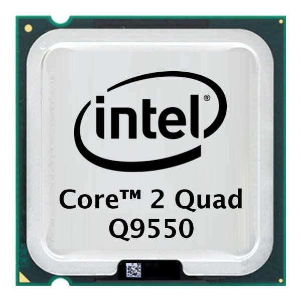 Intel Core 2 Quad Q9550 (4x 2.83GHz) SLB8V CPU Sockel 775    #301