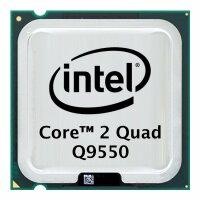 Intel Core 2 Quad Q9550 (4x 2.83GHz) SLB8V CPU Sockel 775...