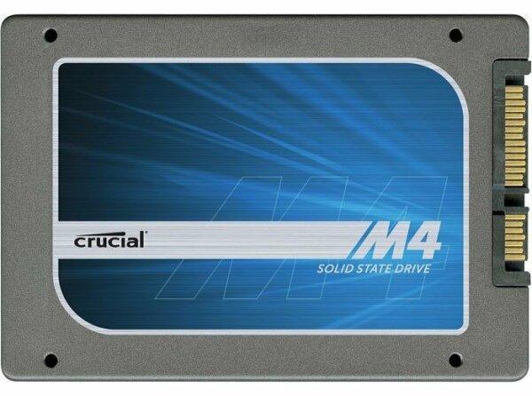Crucial M4 128GB 2.5 Zoll SATA-III 6Gb/s CT128M4SSD2 SSD   #28288