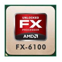 AMD FX Series FX-6100 (6x 3.30GHz) FD6100WMW6KGU CPU...