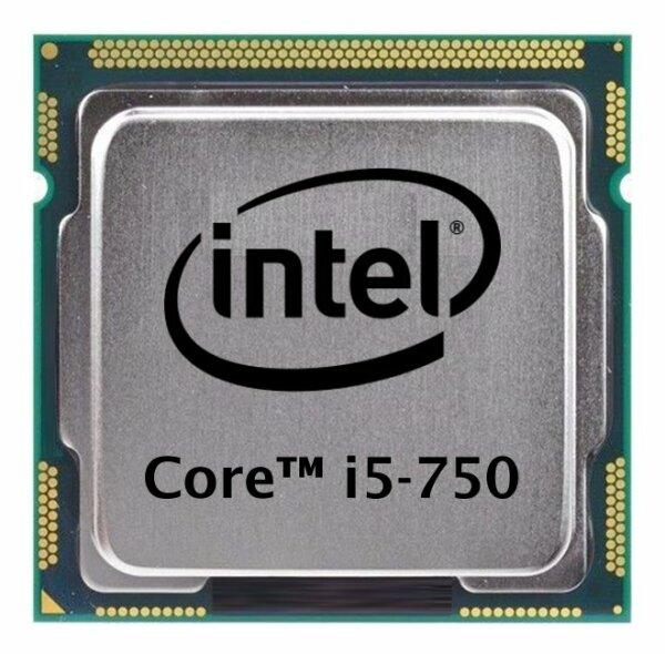 Intel Core i5-750 (4x 2.66GHz) SLBLC CPU Sockel 1156   #5662