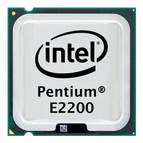 Intel Pentium Dual-Core E2200 (2x 2.20GHz) SLA8X CPU Sockel 775   #2940