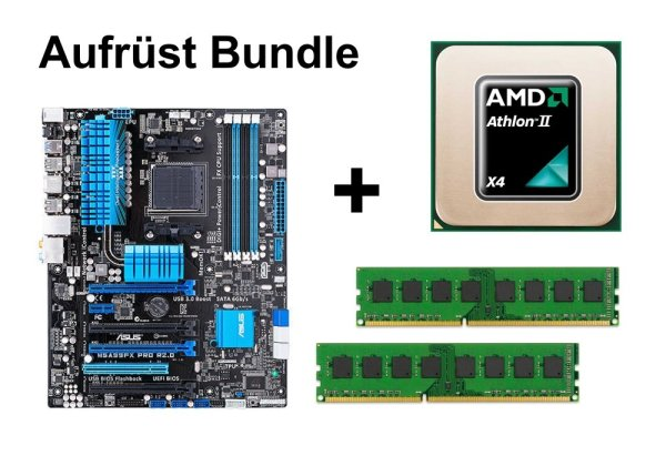 Upgrade Bundle - ASUS M5A99FX Pro R2.0 + Athlon II X4 620 + 16GB RAM #103394
