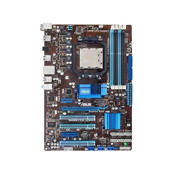 ASUS M4A87TD/USB3 AMD 870 Mainboard ATX Sockel AM3   #6809