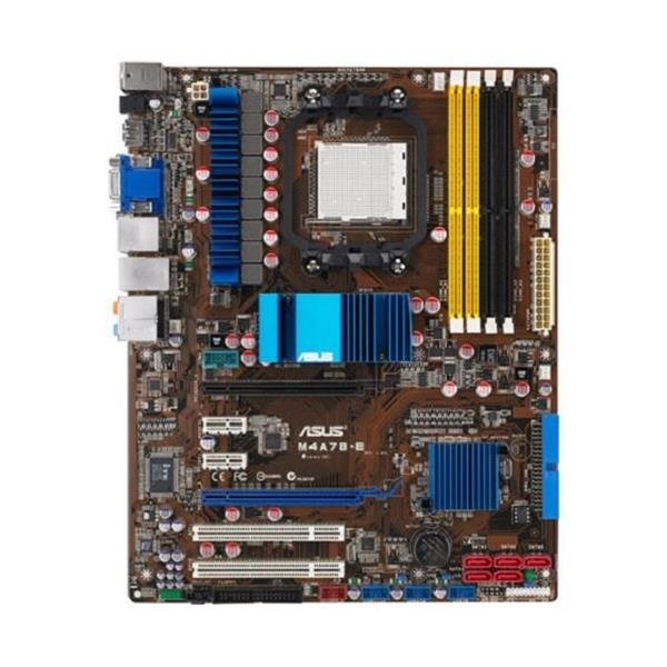 ASUS M4A78-E AMD 770 Mainboard ATX Sockel AM2 AM2+ AM3   #6468