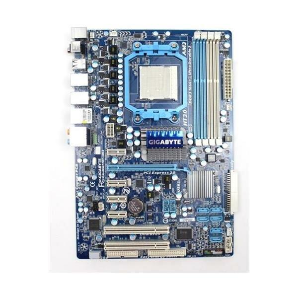 Gigabyte GA-MA770T-UD3 Rev.1.5 AMD 770 Mainboard ATX Sockel AM3   #28711