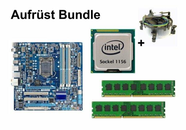 Aufrüst Bundle - Gigabyte GA-P55M-UD2 + Intel i5-750 + 4GB RAM #80613