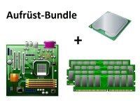 Aufrüst Bundle - MA785GM-US2H + Phenom X4 9850 + 4GB...