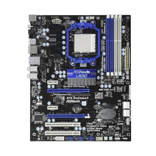 ASRock 870 Extreme3 AMD 870 Mainboard ATX Sockel AM3   #28206