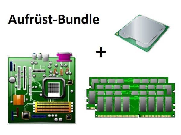 Aufrüst Bundle - 870 Extreme3 + Athlon II X4 635 + 4GB RAM #65668