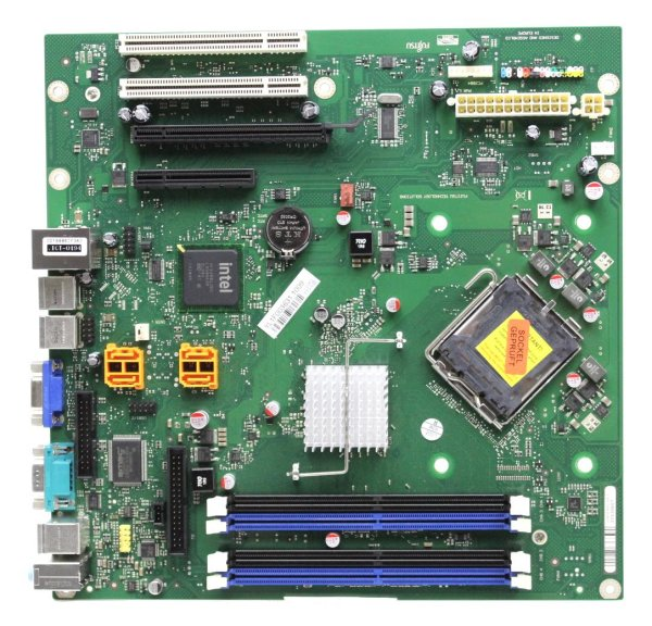 Fujitsu Siemens D2812-A23 GS 1 Intel iQ43 Mainboard Micro BTX Sockel 775   #29085