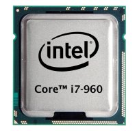 Intel Core i7-960 (4x 3.20GHz) SLBEU CPU Sockel 1366   #2741