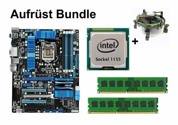 Aufrüst Bundle - ASUS P8Z68-V/GEN3 + Intel Core i7-2600 + 8GB RAM #131328