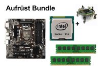 Aufrüst Bundle - ASRock Z77 Pro4-M + Intel i5-2400S + 4GB...