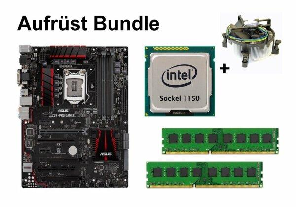 Upgrade Bundle - ASUS Z97-PRO GAMER + Intel i3-4150T + 4GB RAM #86016