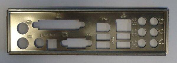 ASUS P5N-D Blende - Slotblech - IO Shield   #26880