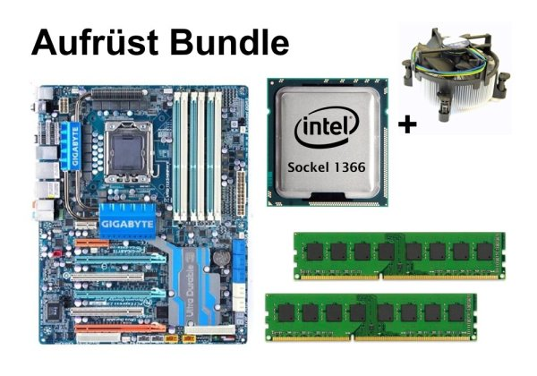 Aufrüst Bundle - Gigabyte EX58-UD5 + Intel i7-965 + 12GB RAM #100352