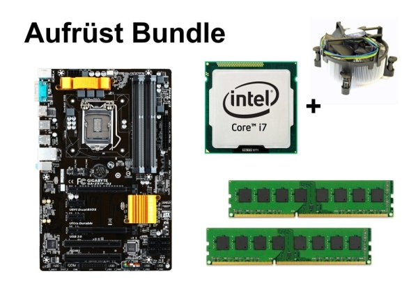Aufrüst Bundle - Gigabyte Z97P-D3 + Intel Core i7-4770K + 16GB RAM #100608