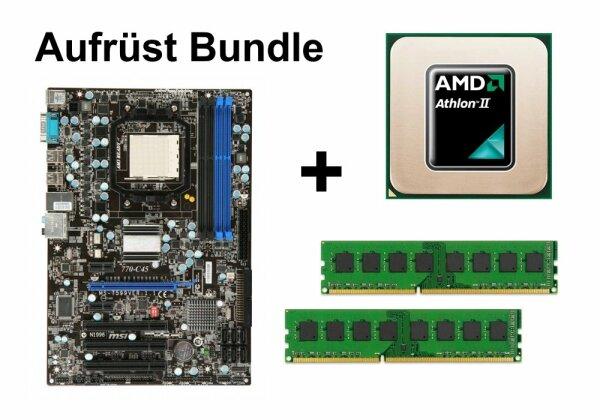 Aufrüst Bundle - MSI 770-C45 + Athlon II X4 630 + 4GB RAM #129280