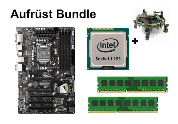 Aufrüst Bundle - ASRock Z77 Pro4 + Intel i5-3570 + 16GB RAM #71169