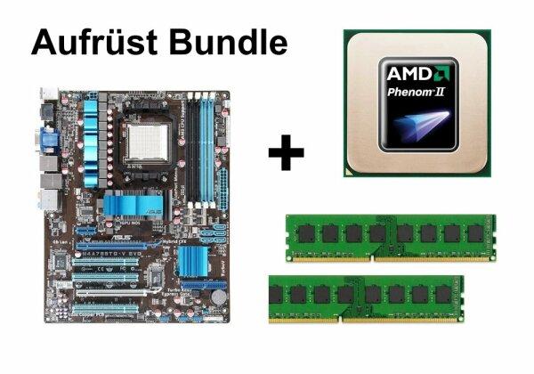 Aufrüst Bundle - ASUS M4A785TD-V EVO + Phenom II X2 550 + 8GB RAM #82945